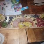 Spanish cheese board. So good!