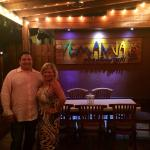 Dining at our favorite restaurant in Aruba!!!