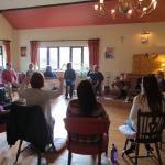Teaching at Creacon Lodge- wonderful experience.