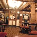 Bar in the older Tudor area