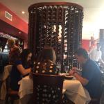Talk about a wine rack!