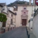 Portada y campanario de la Iglesia de  La Victoria