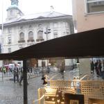 scorcio della piazza municipale