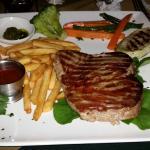 Tuna steak - 7000 colones; Excellent choice