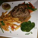 Beef steak in pepper sauce  - just go for it