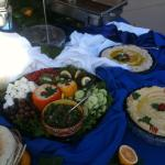 Catering Appetizer table