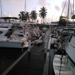H Dock at Nanny Cay
