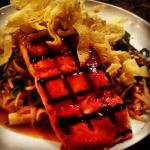 Grilled Salmon Pad Thai Noodle