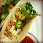 Asian Blacken Shrimp Taco