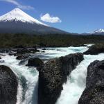 Nearby Petrohue Falls and Osorno (116638164)