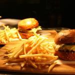 Restaurant quality burger