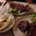 Bistecca e filetto! Che bontà !