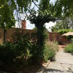 Walking in to the cellar door - gorgeous gardens