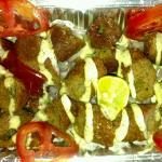 Juicy Hot Seekh Kebabs with outstanding dips...