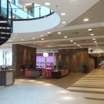 Gezellige plek waar hotelgasten bij elkaar kunnen komen
