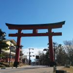 Shinto shrine just down the road