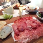 Meat and Cheese Chef Board