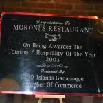 En Moroni´s Restaurant