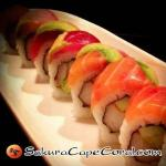 Cape Coral Sushi - Rainbow Roll