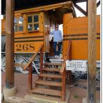 Train in Gunnison Pioneer Museum