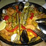 paella before