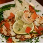 Tequila Lime Chicken & Shrimp Special!