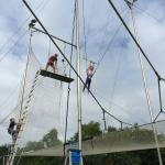 Trapeze birthday party for the kids