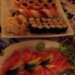 Sashimi e sushi misto