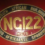 Number Plate for 2' gauge engine