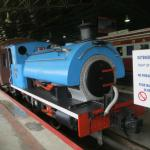 Small tank engine from electric station