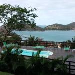 Desde la habitacion, vista de la piscina y Ferradura