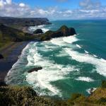 View from the Te Henga walkway