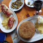 Hamburguesa y panini