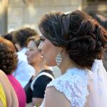 Junge Braut in Jifna