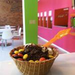 We offer waffle bowls!
