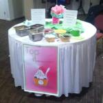 Out at the Diva Mall giving away free samples!