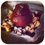 The poached pear.. Yum