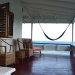 upstairs verandah Villa Grande