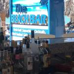 the Beach Bar at Playa Linda
