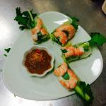 Summer rolls prawn