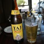 Taj Beer too!