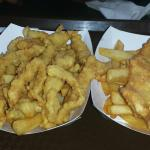 Clam Strips and Scrod