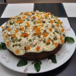our beautiful carrot cake