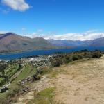 Vanaf de top van Mt. Iron, Wanaka NZ