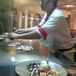 Chef in action!!