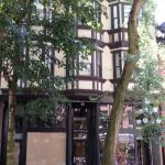 Striking architecture of historic Gastown - a short walk from the hotel