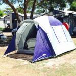 Tent set up