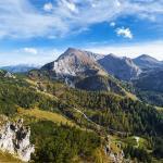 Nationalpark Berchtesgaden - Blick vom Jenner