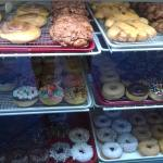some of the variety of donuts