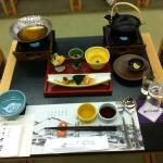 Sumptious Japanese dinner